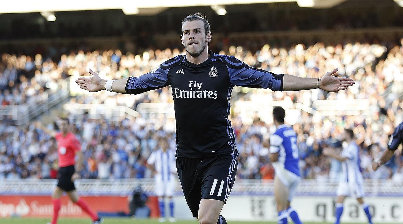 Real Madrid Gareth Bale