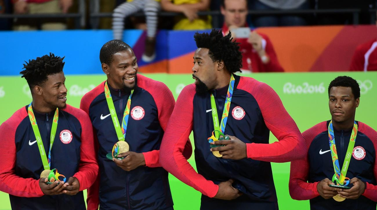 USA basketball gold medal: NBA players congratulate team ...