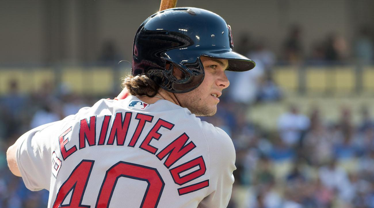 red sox rays andrew benintendi catch video