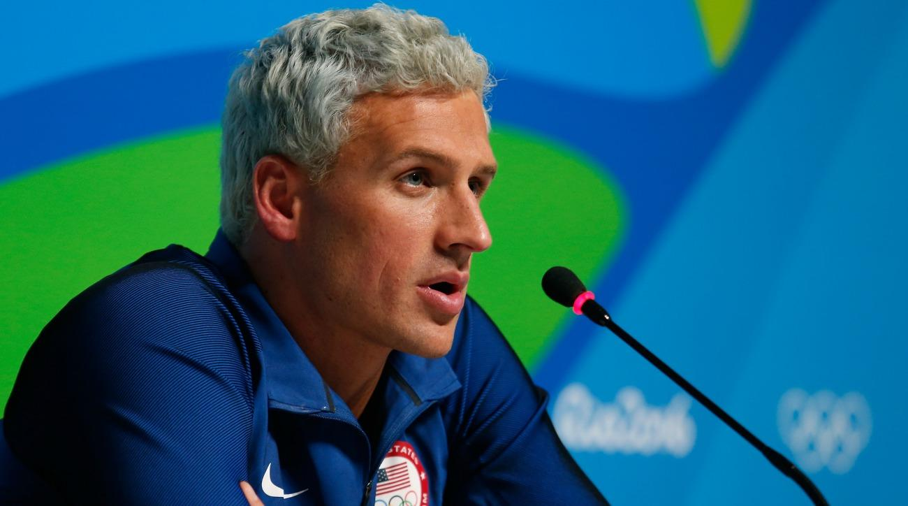 Ryan Lochte is the focus of new John Oliver segment