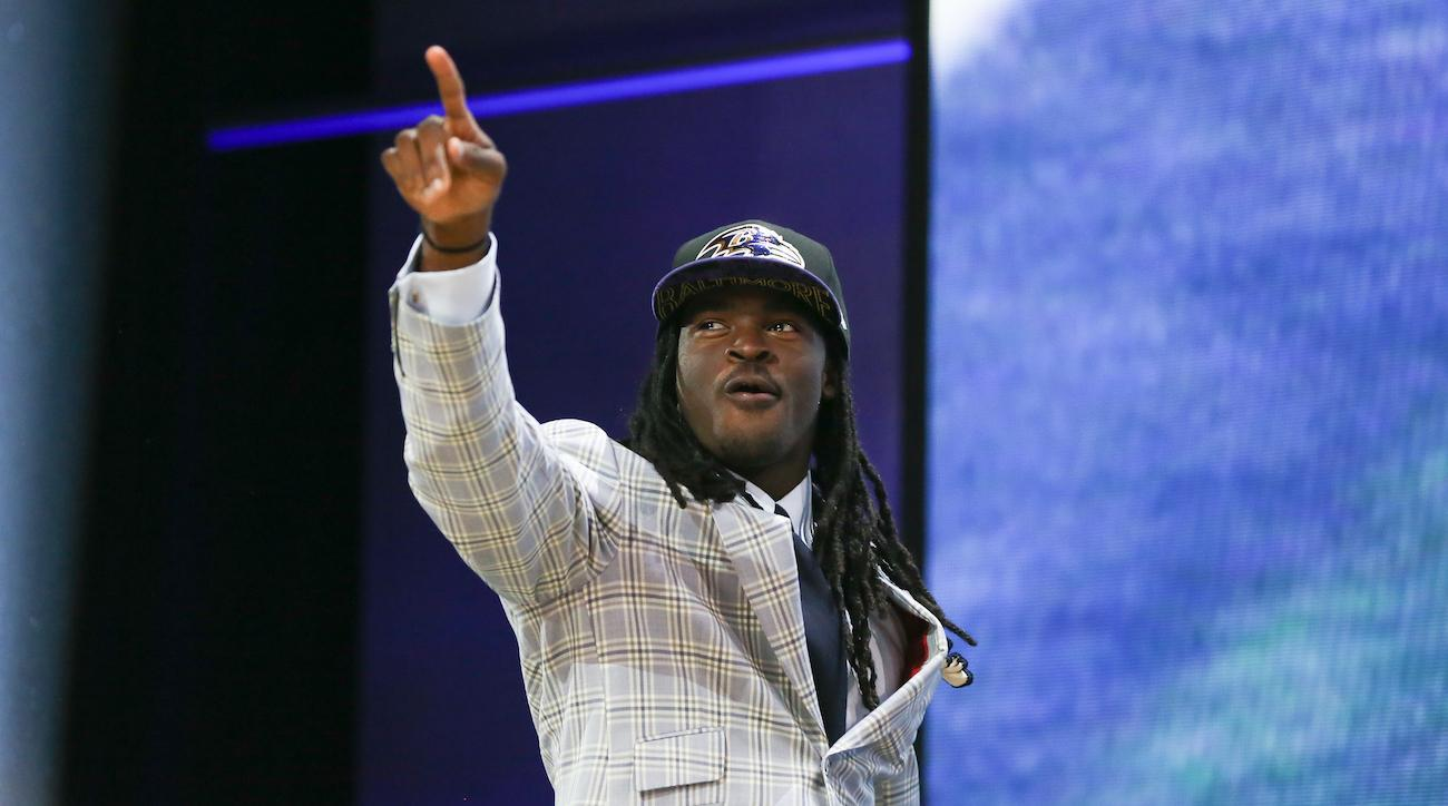 breshad perriman ravens haircut loses weight