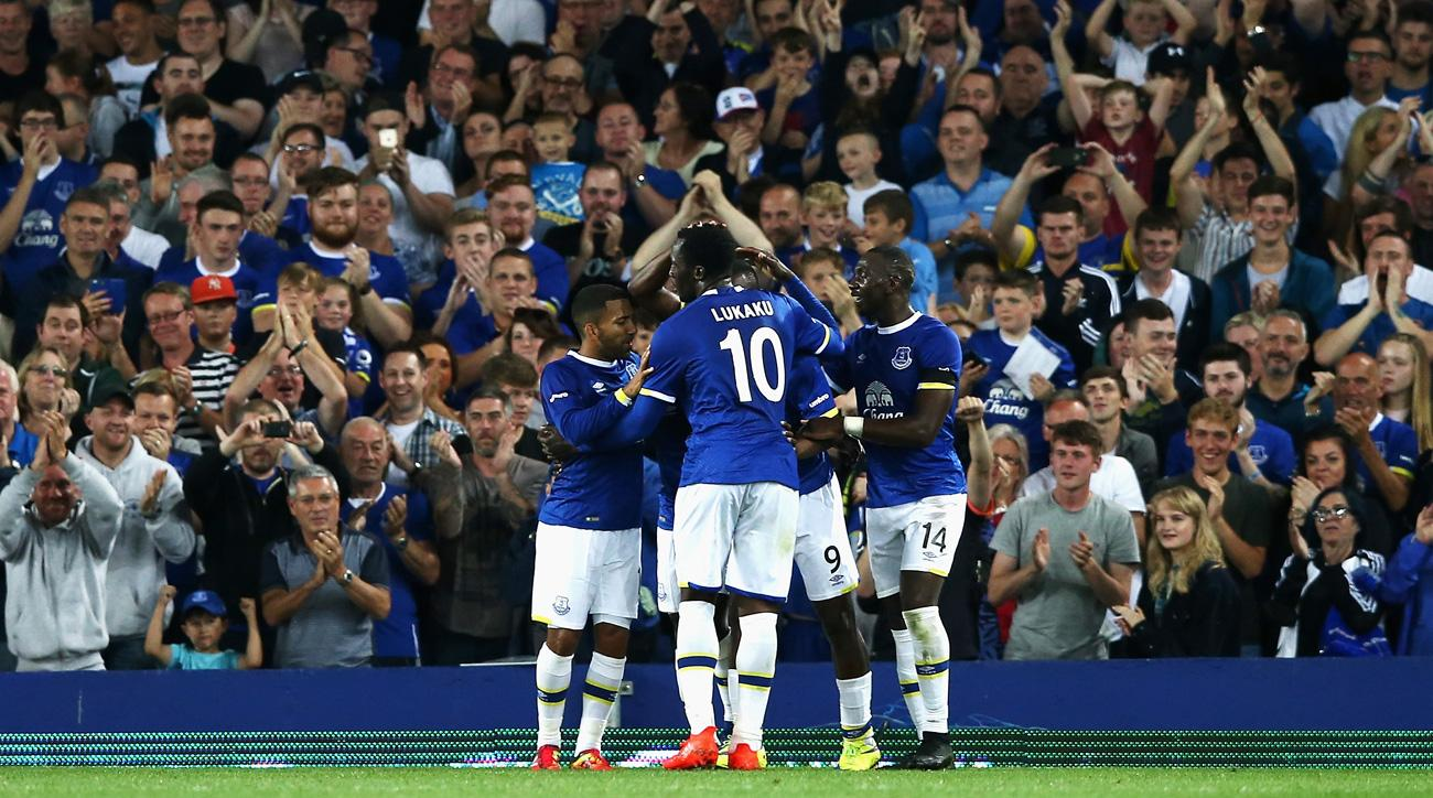 Everton goes through after an easy win in the League Cup