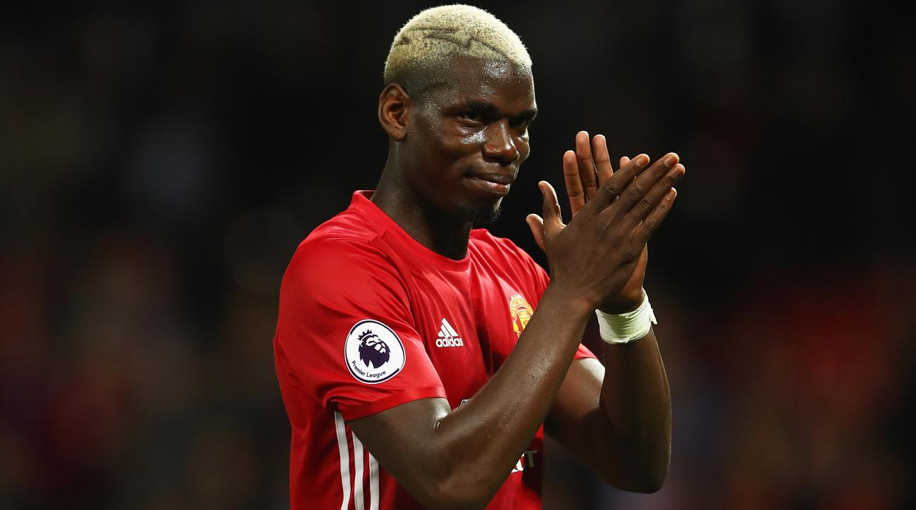 Paul Pogba went to Manchester United on a record transfer