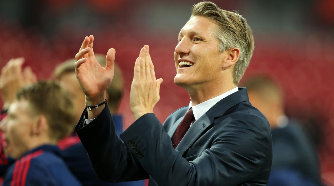 Bastian Schweinsteiger won't play for another club in Europe after Manchester United