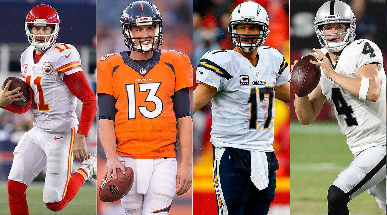 AFC West preview: Chiefs, Raiders threaten Broncos with unshaky quarterbacks
