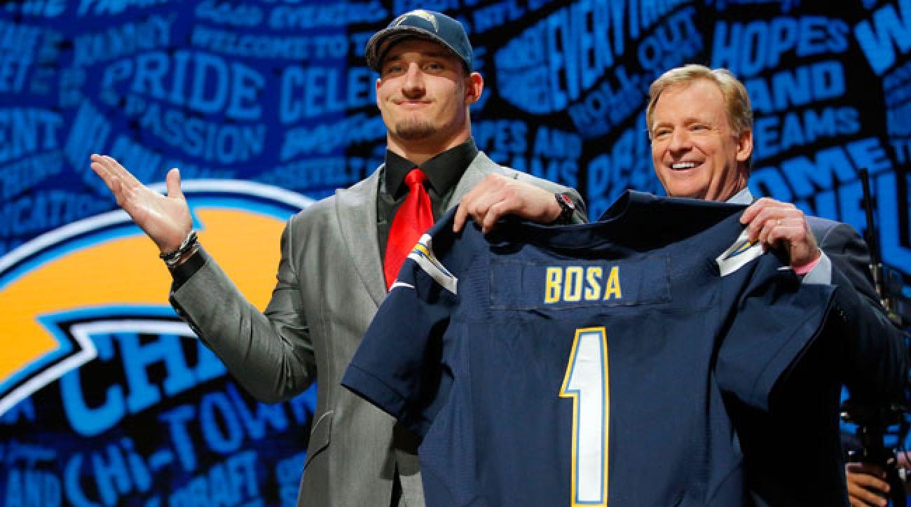 Joey Bosa at the 2016 NFL draft.