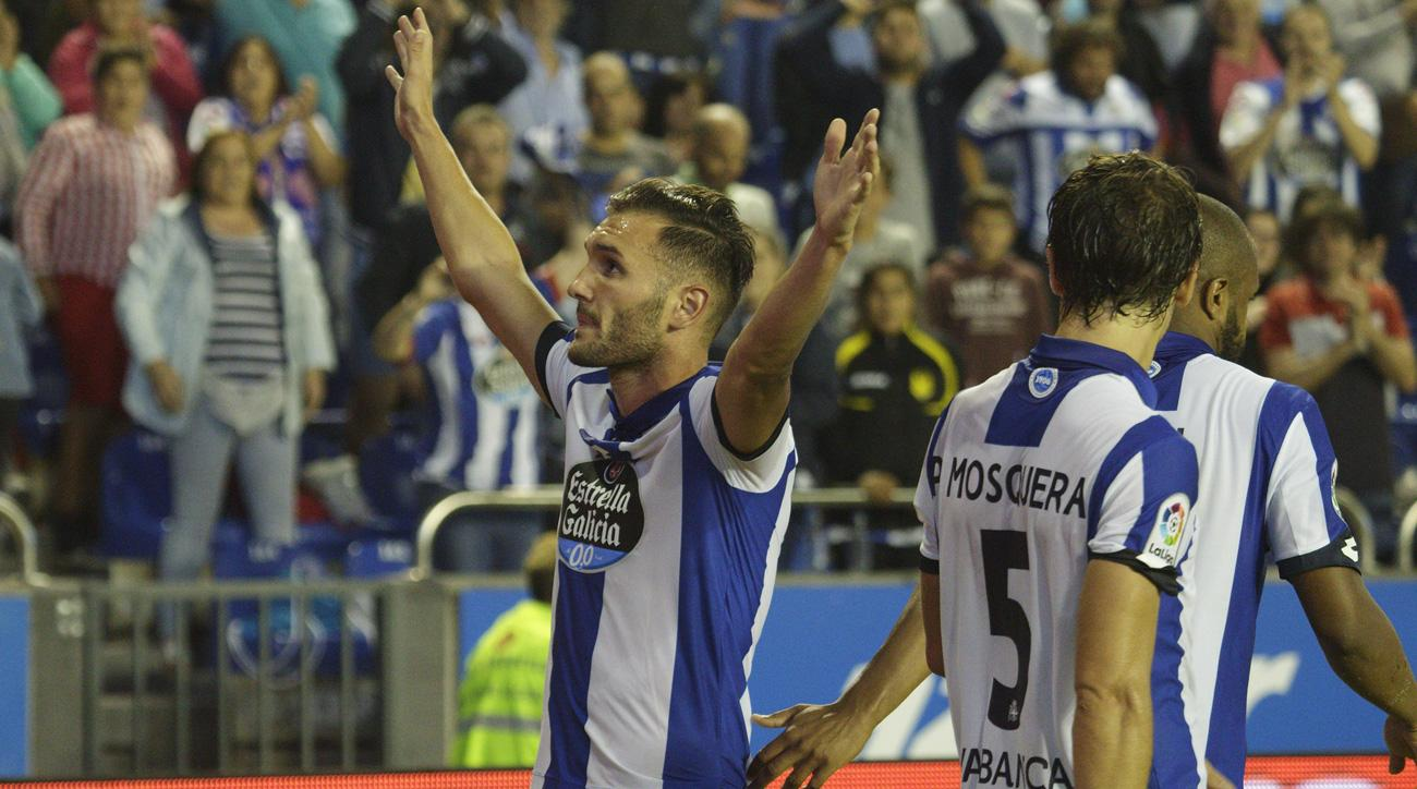 Lucas Perez could be on his way to Arsenal from Deportivo La Coruna