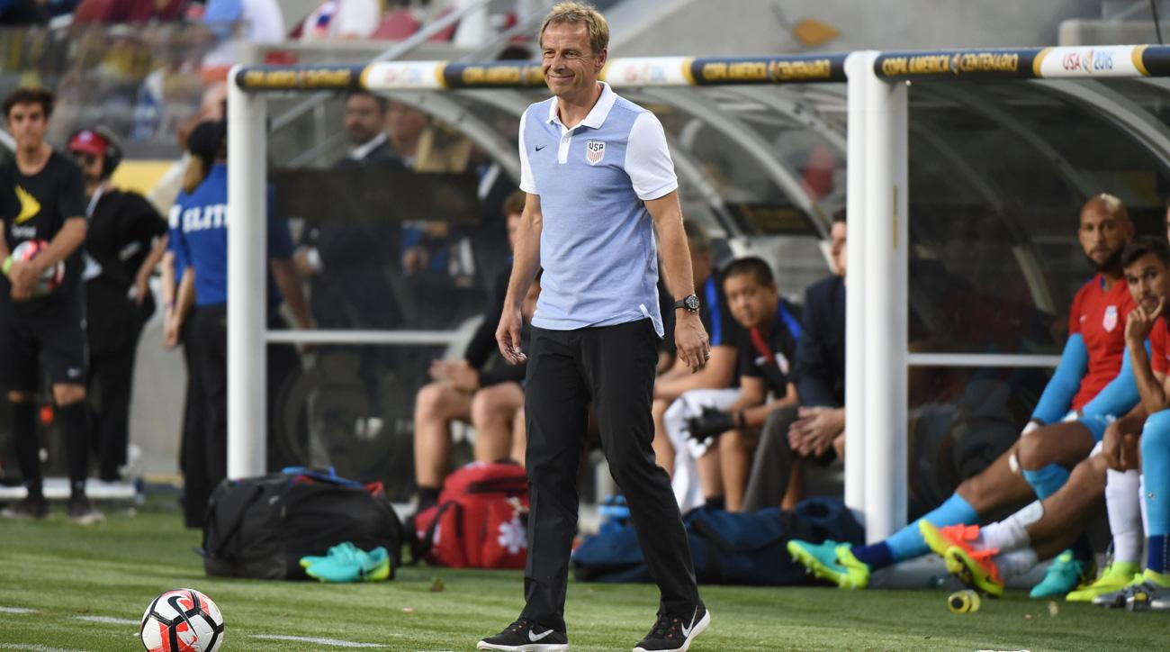 Jurgen Klinsmann and the U.S. men's national team resumes World Cup qualifying next week
