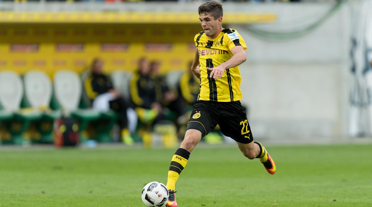 Christian Pulisic could leave Dortmund via transfer or loan this summer