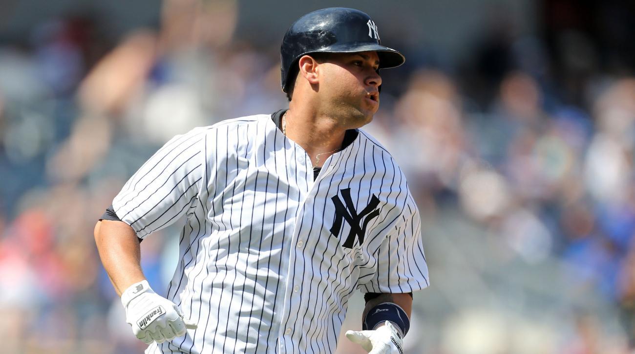 gary sanchez yankees home run