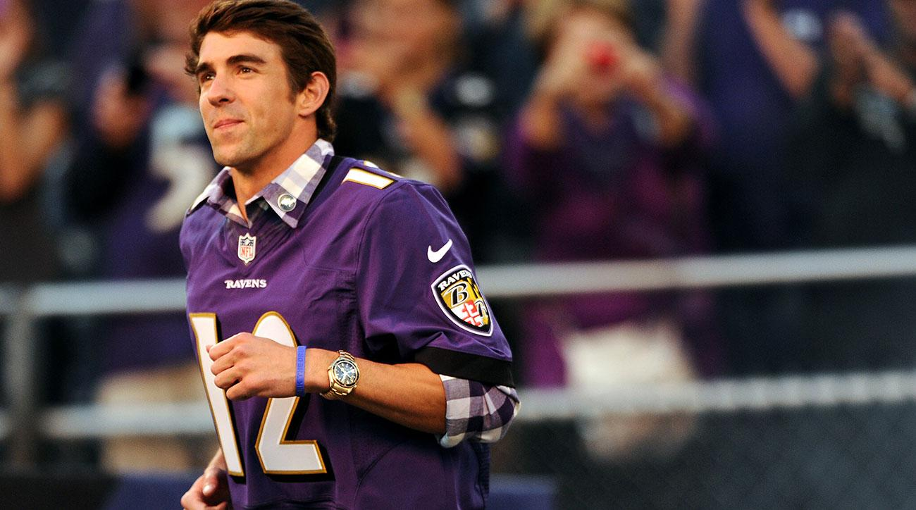 michael phelps joe flacco elite