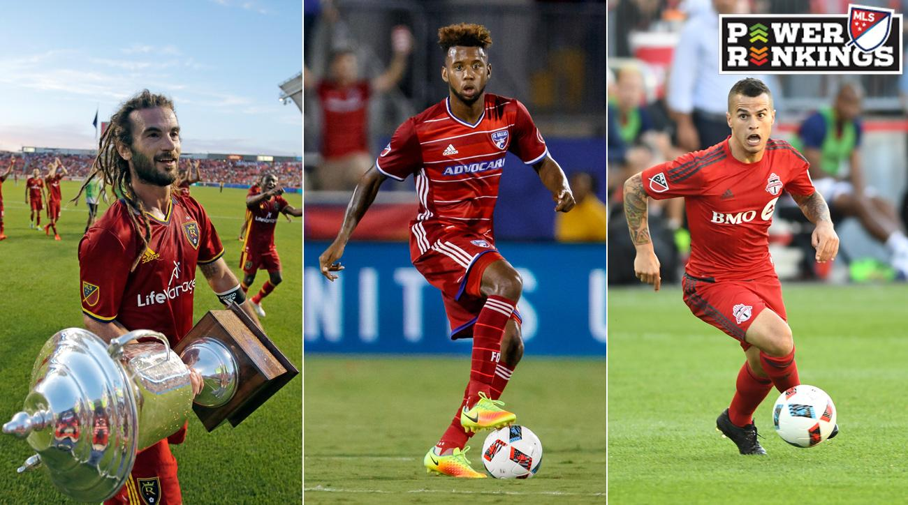 Real Salt Lake, FC Dallas, Toronto FC are all in the mix for the MLS Supporters' Shield