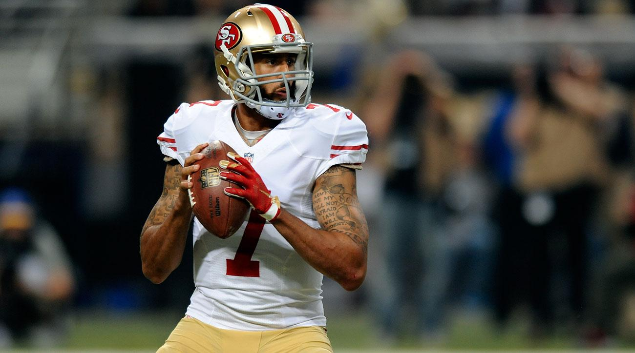 colin kaepernick to play 49ers