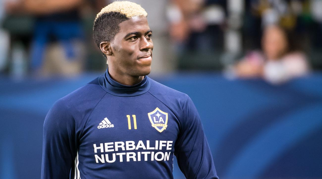 Gyasi Zardes will miss the rest of the LA Galaxy's regular season