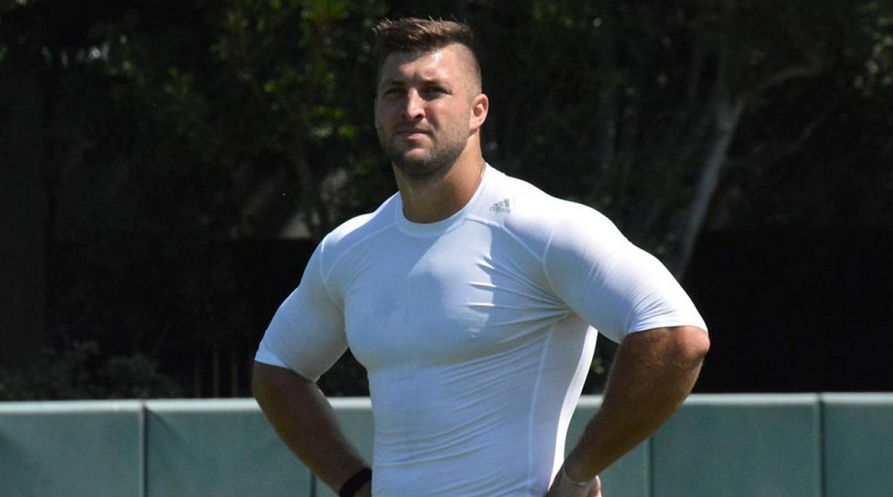Tim tebow muscles