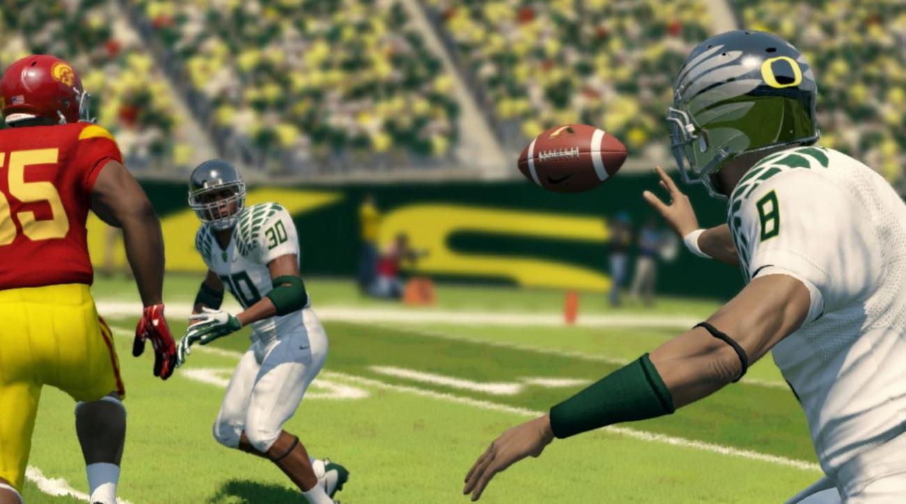 ea ncaa football video game come back return