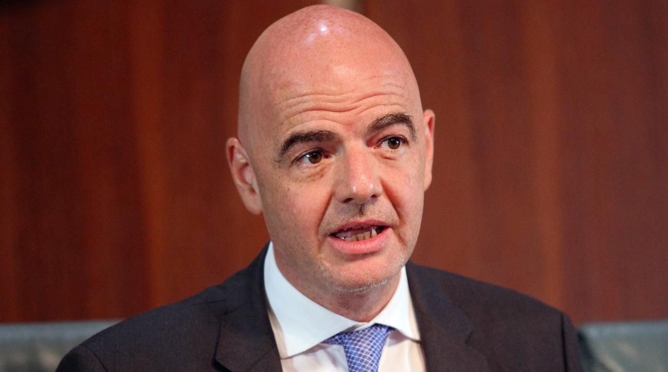 FIFA president Gianni Infantino will make $1.5 million in 2016