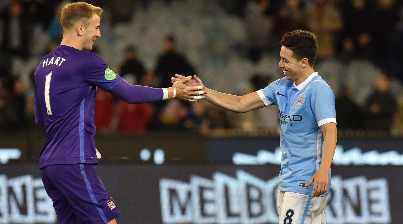 Joe Hart and Samir Nasri will spend the season on loan away from Manchester City