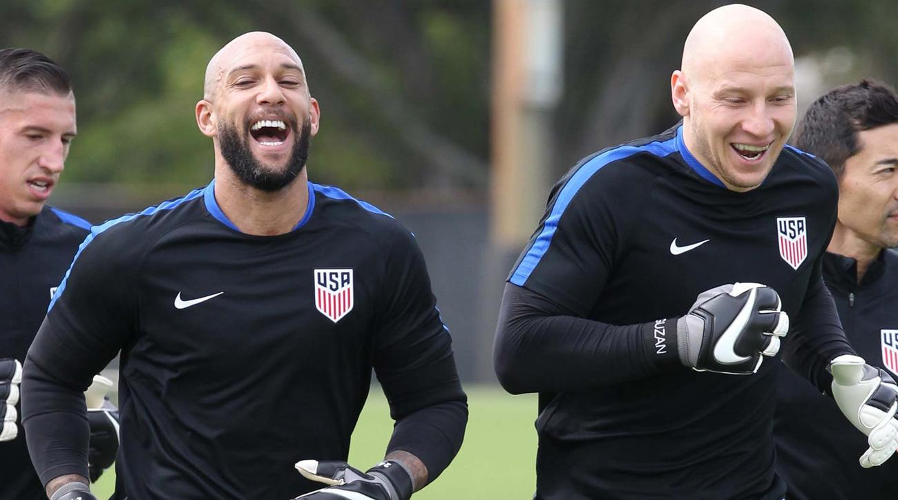 Tim Howard and Brad Guzan will split duty in World Cup qualifiers
