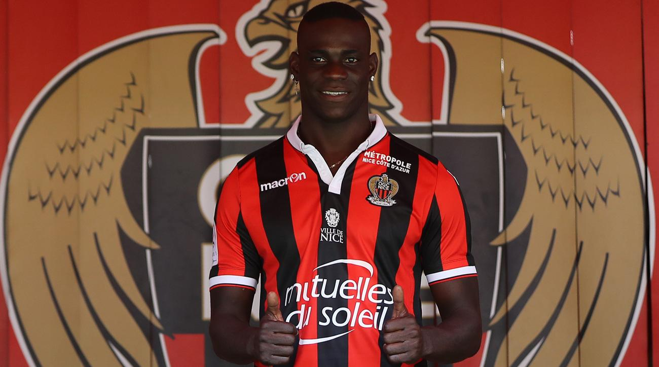 Mario Balotelli has moved to Nice from Liverpool