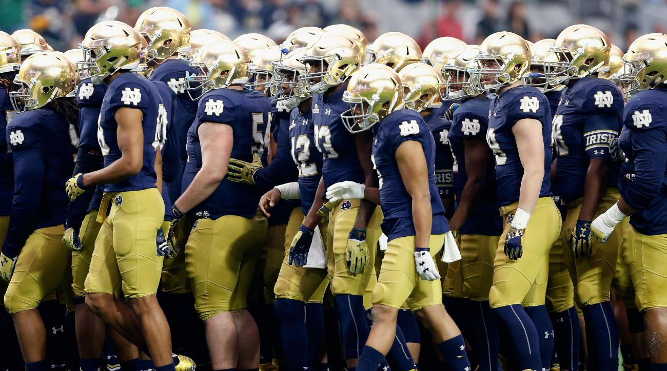notre dame texas watch online live stream