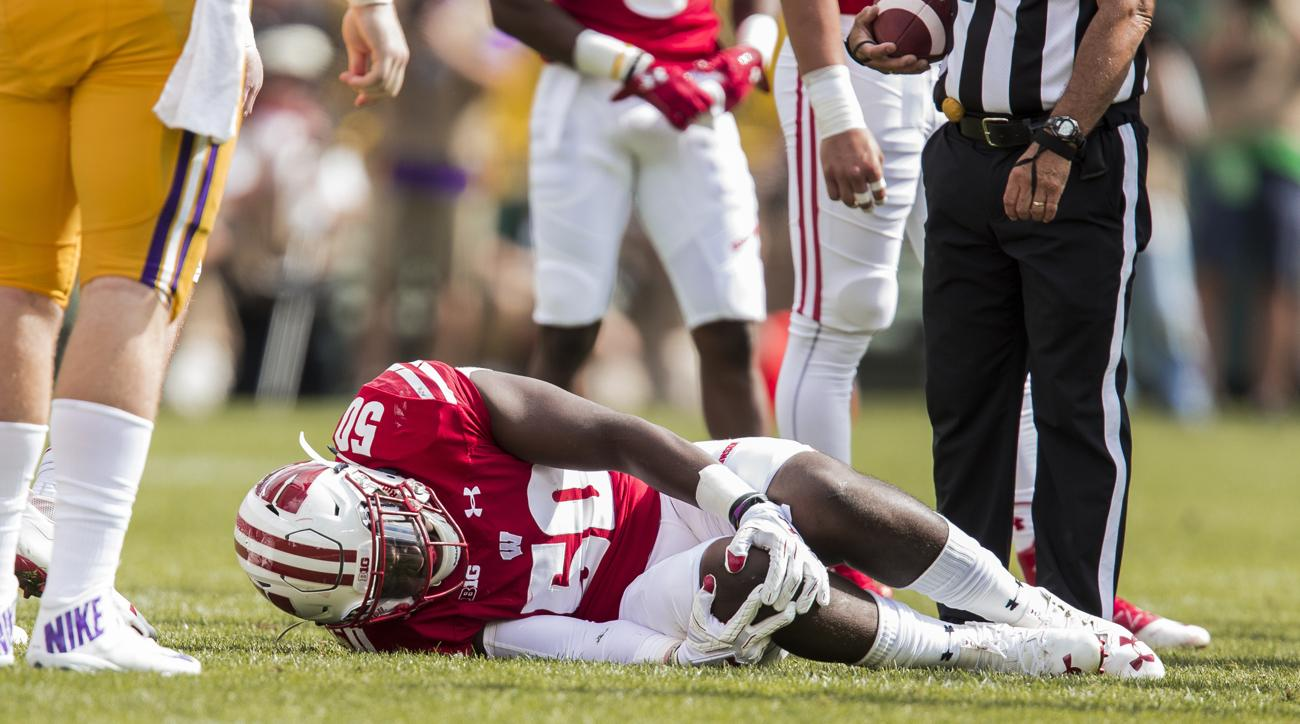 chris orr wisconsin out for season knee injury