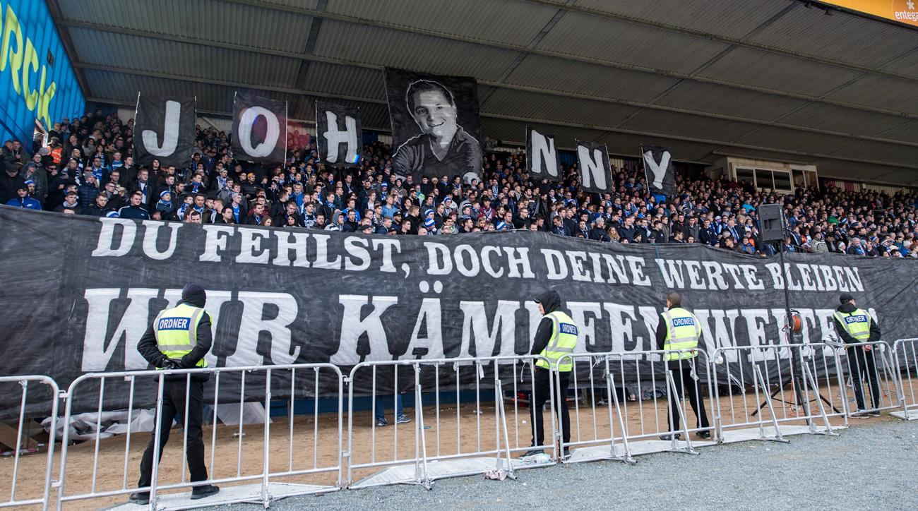 Darmstadt names its stadium after a fan who died of cancer