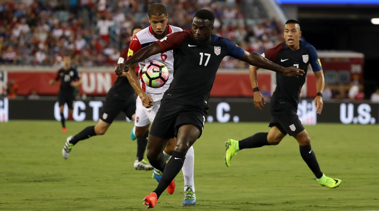 Jozy Altidore scores two goals for the USA vs. Trinidad and Tobago