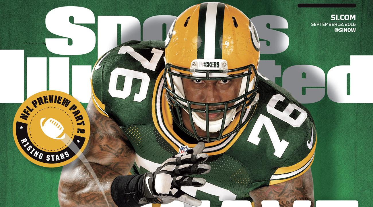 sports illustrated cover nfl rising stars green bay packers
