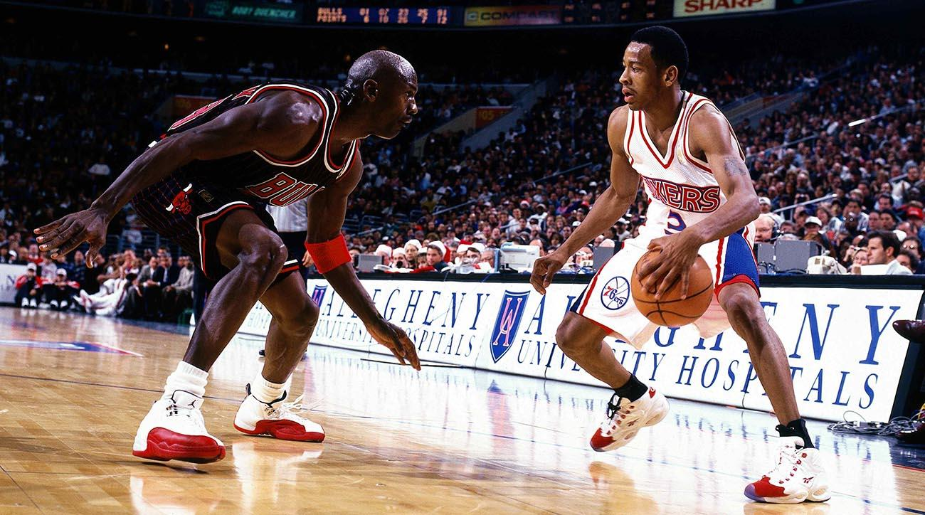 Allen Iverson s top NBA moments  The absolute best of Bubba Chuck 715fd86d2