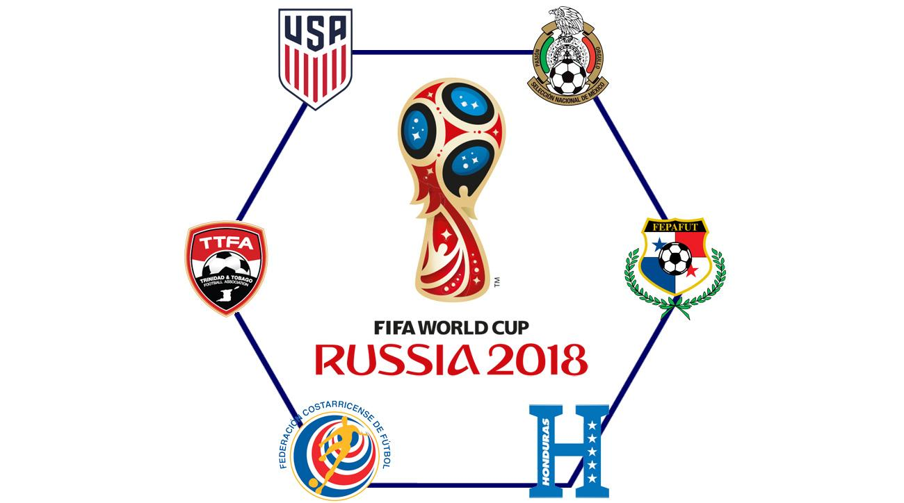 USA, Mexico, Costa Rica, Panama, Honduras and Trinidad & Tobago will compete in the CONCACAF 2018 World Cup qualifying hexagonal