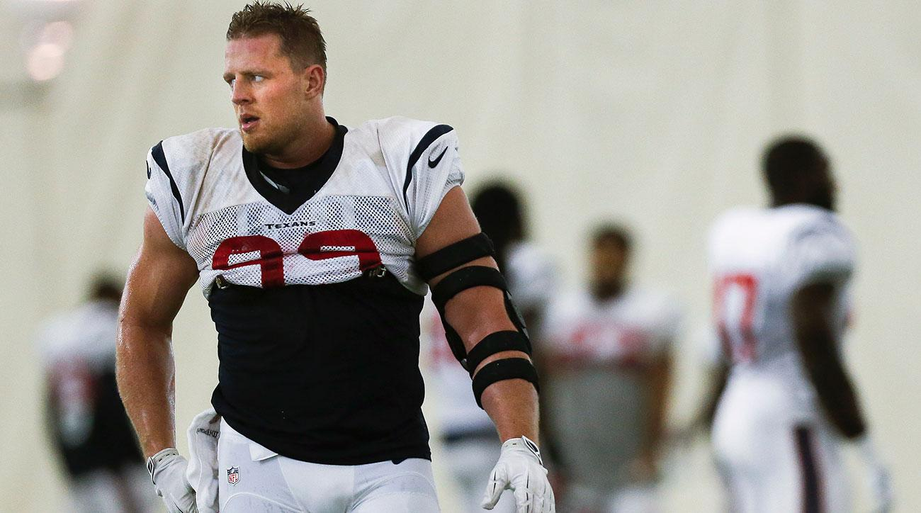 jj watt dillon panthers injury return