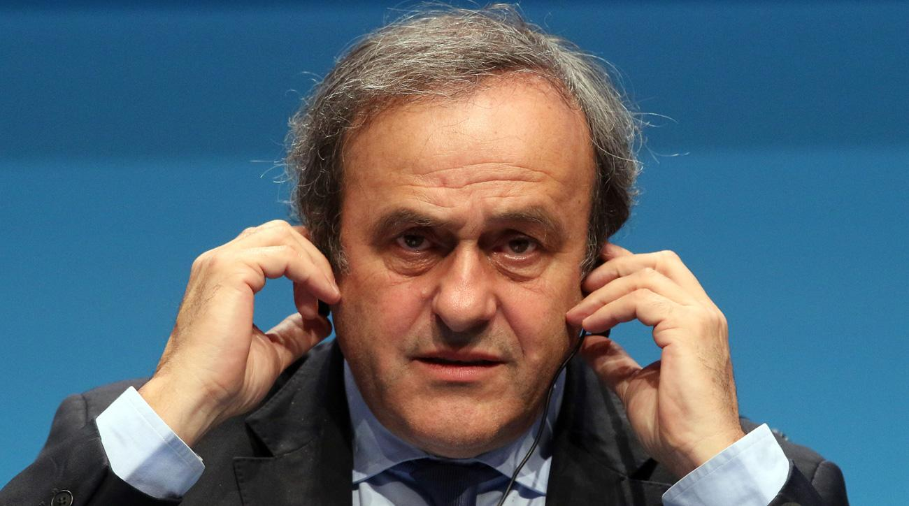 Michel Platini plans to speak at the UEFA election
