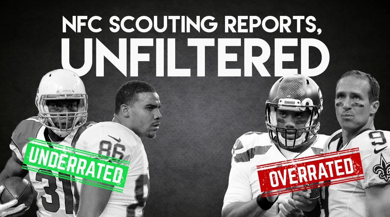 NFC scouting reports: Most overrated and underrated players include Drew Brees, Tony Romo
