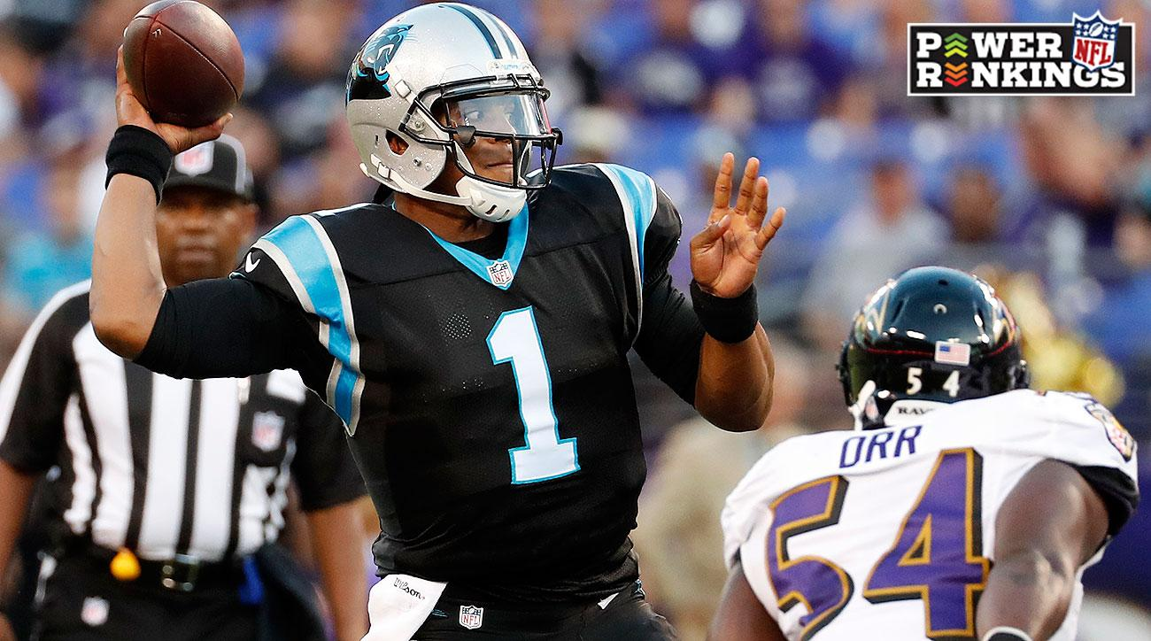 NFL Power Rankings Week 1: Panthers, Cardinals, Broncos top team rankings
