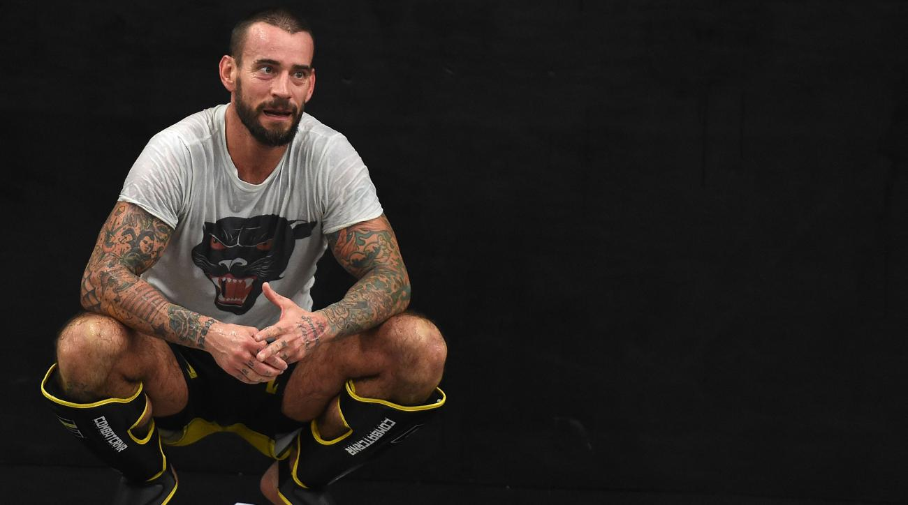 cm punk ufc 203 debut interview preview