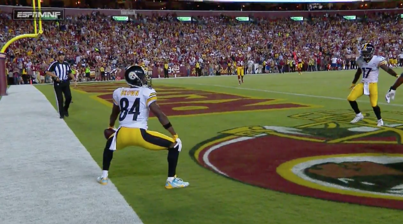 antonio brown twerk