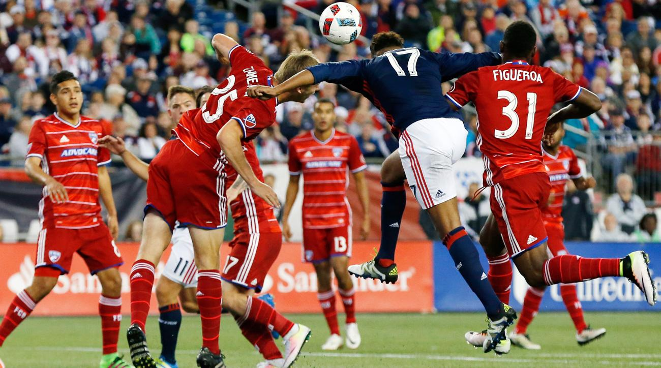 FC Dallas and the New England Revolution will vie for the U.S. Open Cup title
