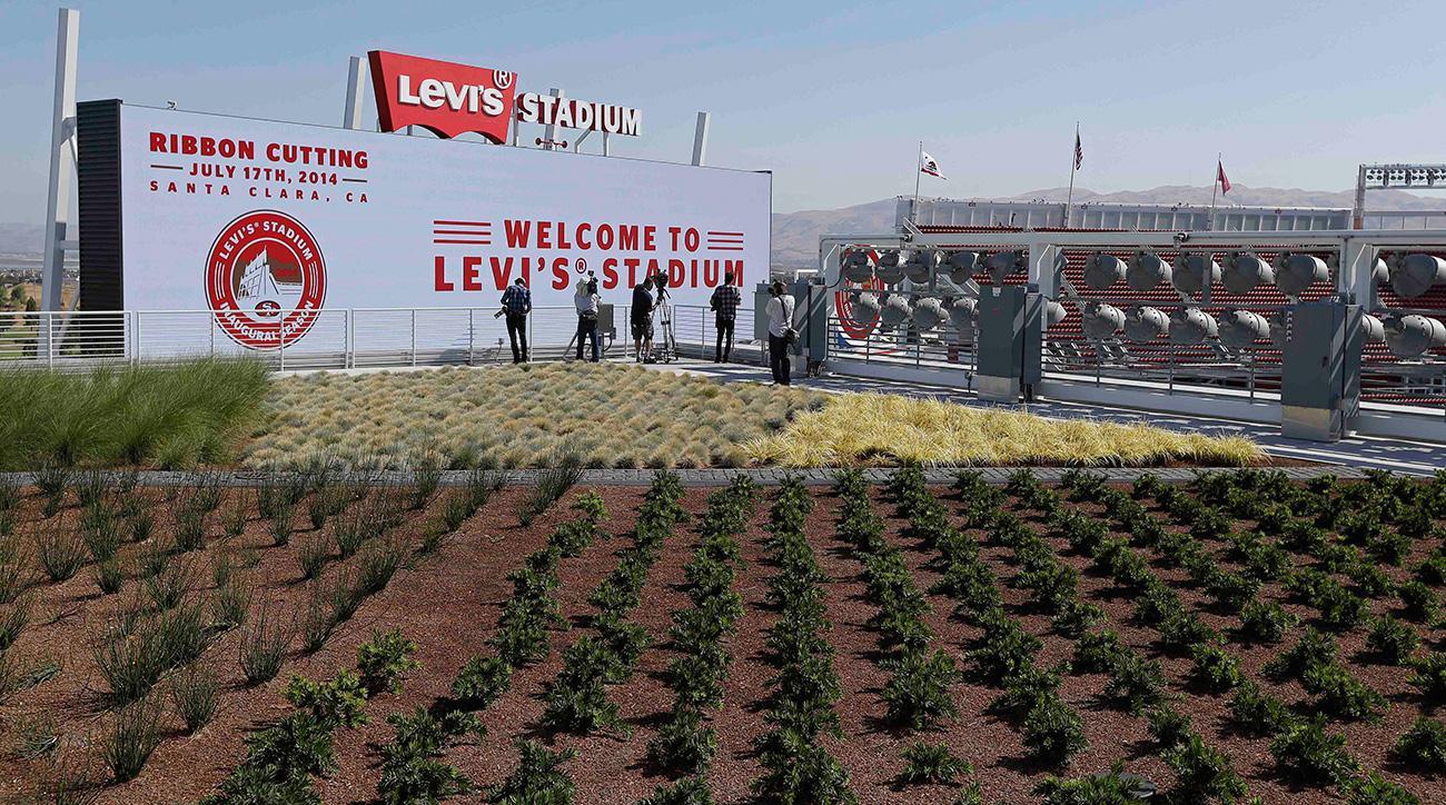 Levi's Stadium garden