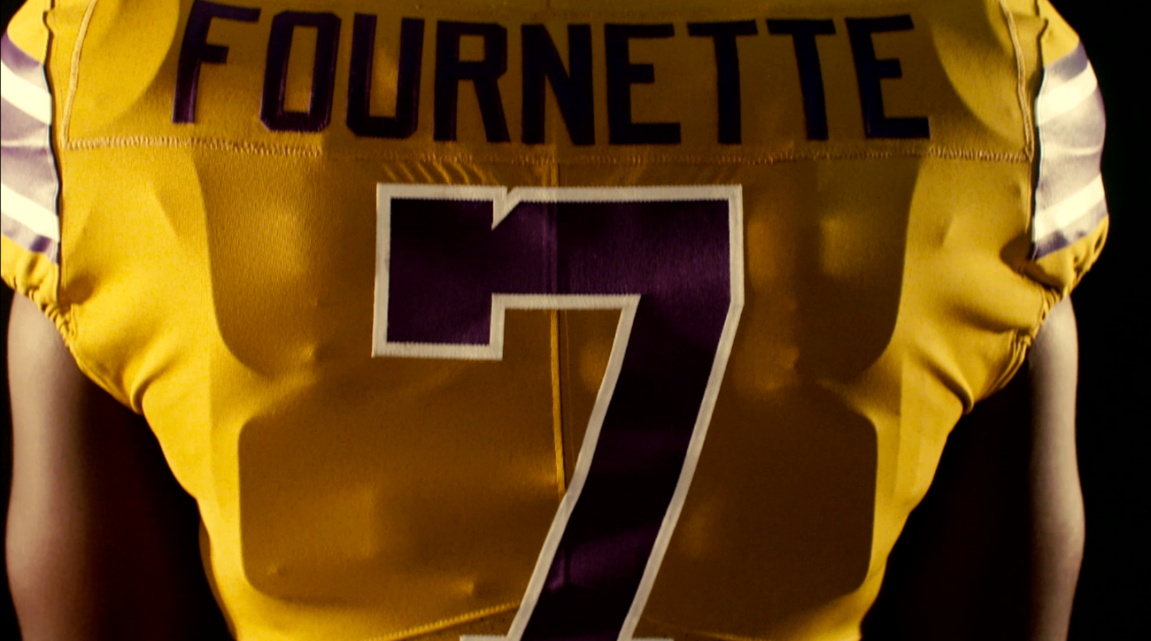 lsu gold throwback jerseys