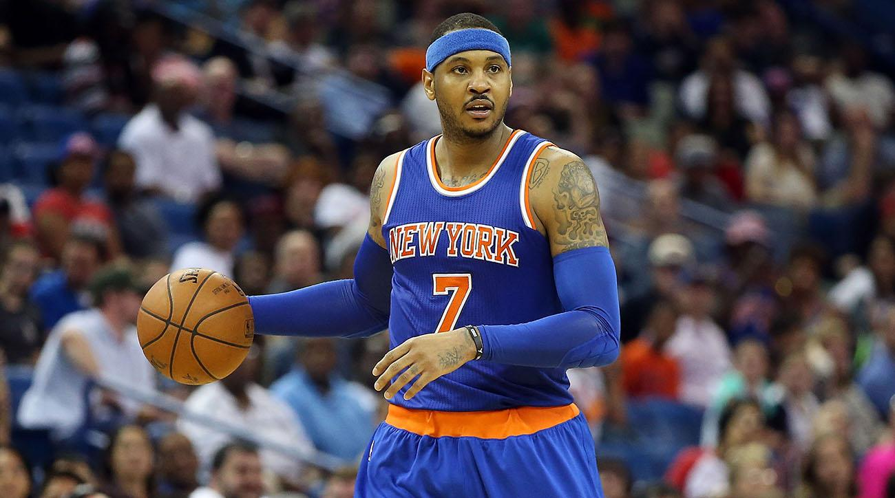 NBA's Knicks and Rockets Reportedly Working Out a Carmelo Anthony Trade