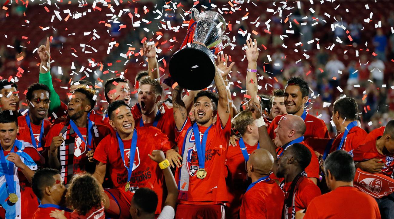 FC Dallas wins the 2016 U.S. Open Cup