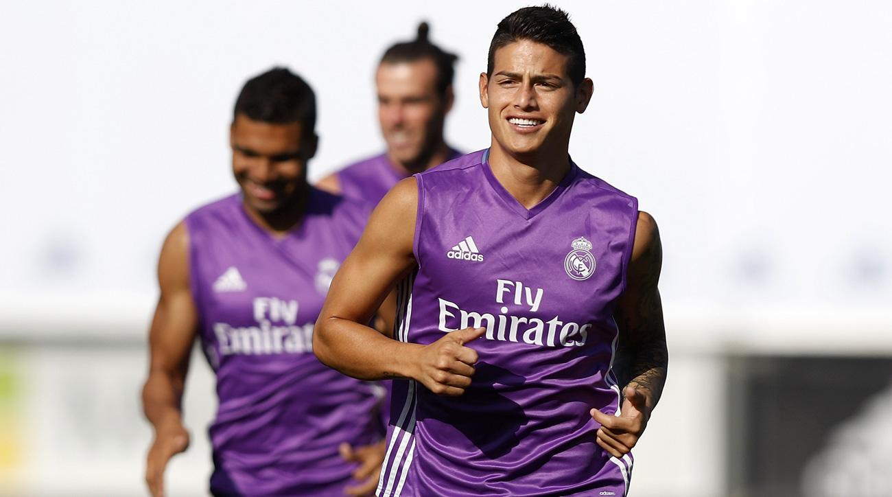 James Rodriguez was the subject of a huge transfer bid by Inter Milan