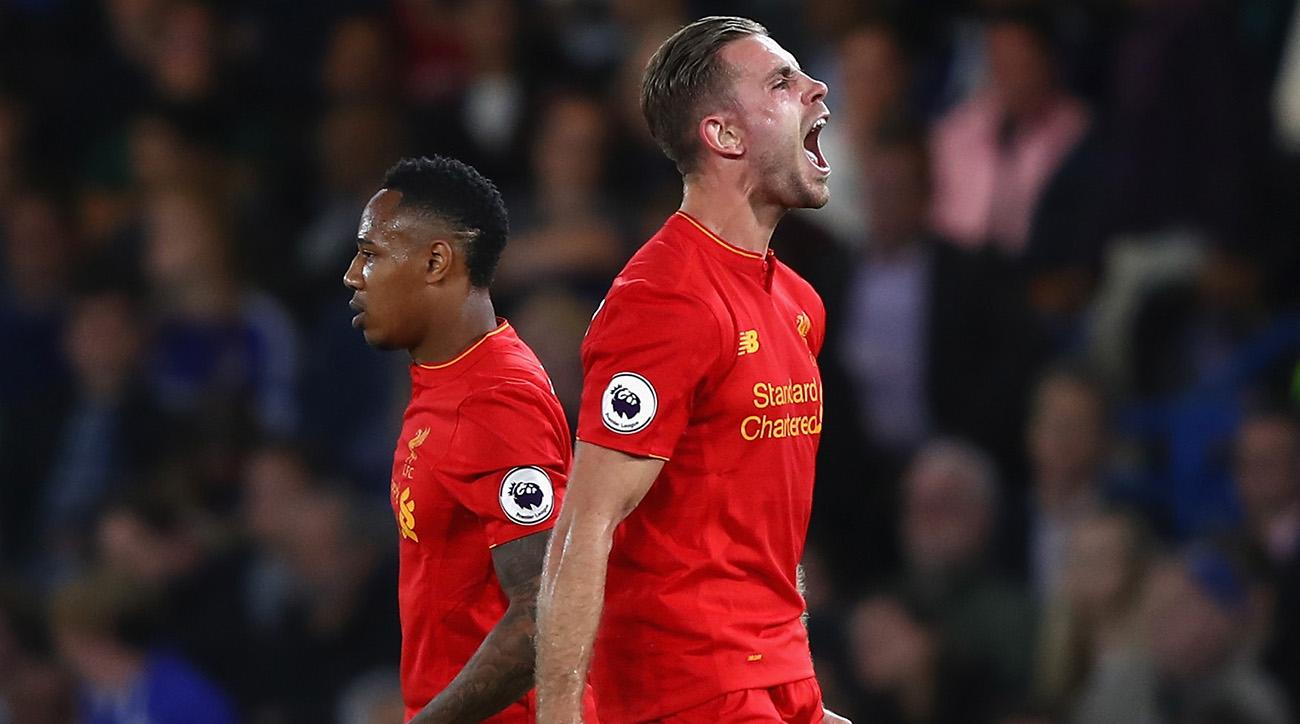 jordan henderson goal chelsea watch video liverpool