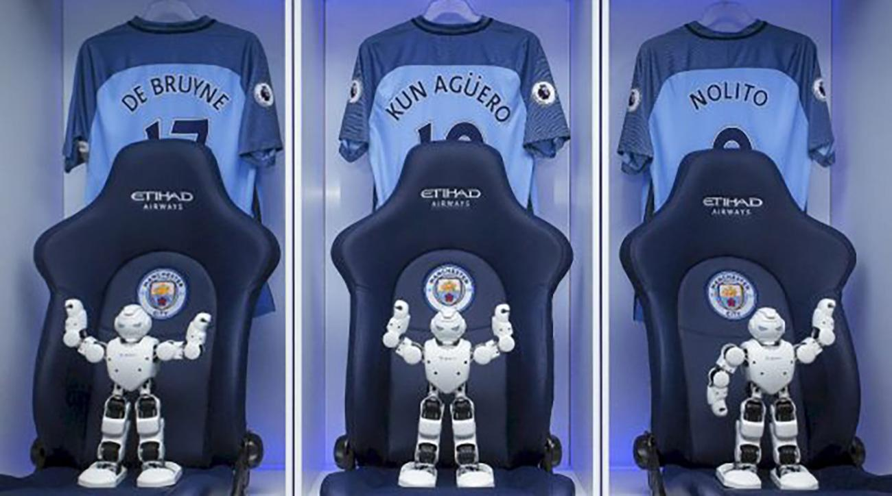 Manchester City robots