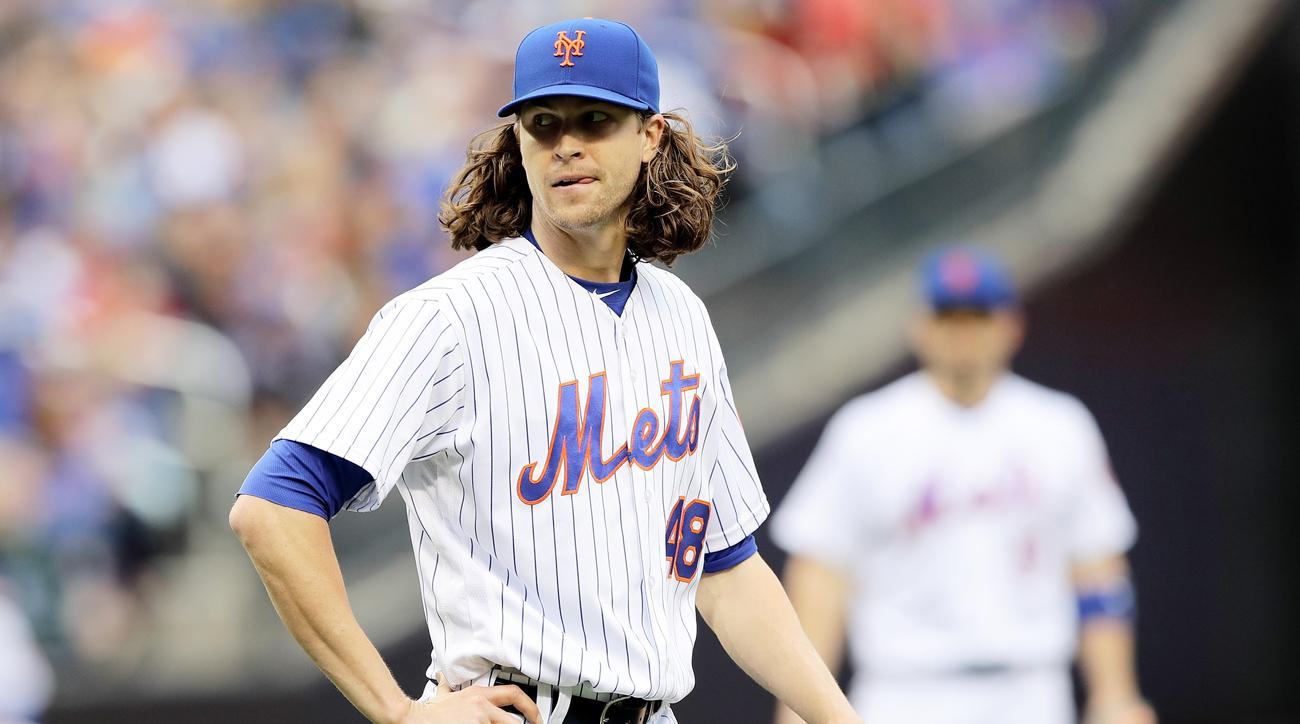 jacob degrom hair hat giveaway