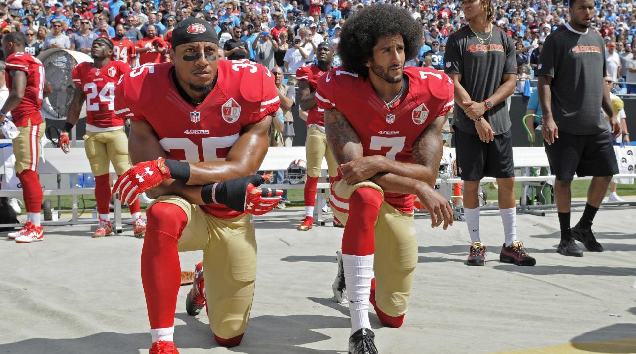 colin kaepernick eric reid 49ers protest