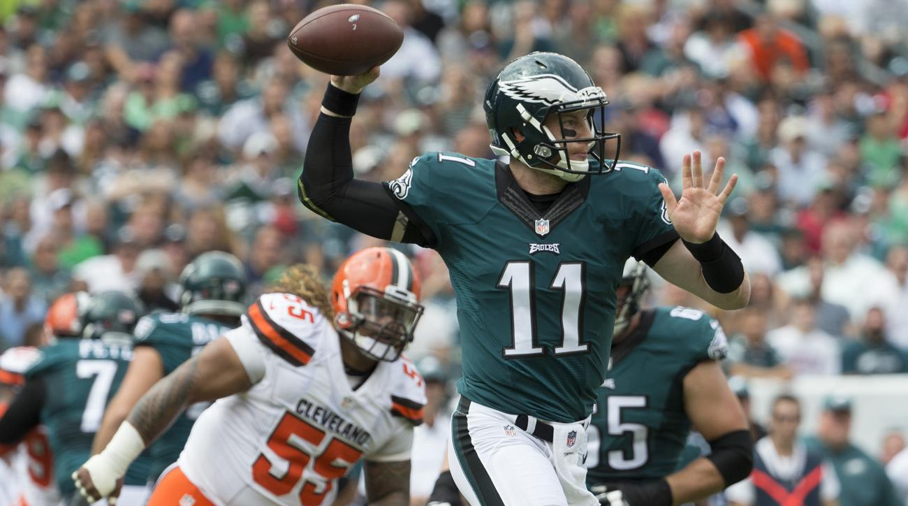 carson wentz browns scouts fired