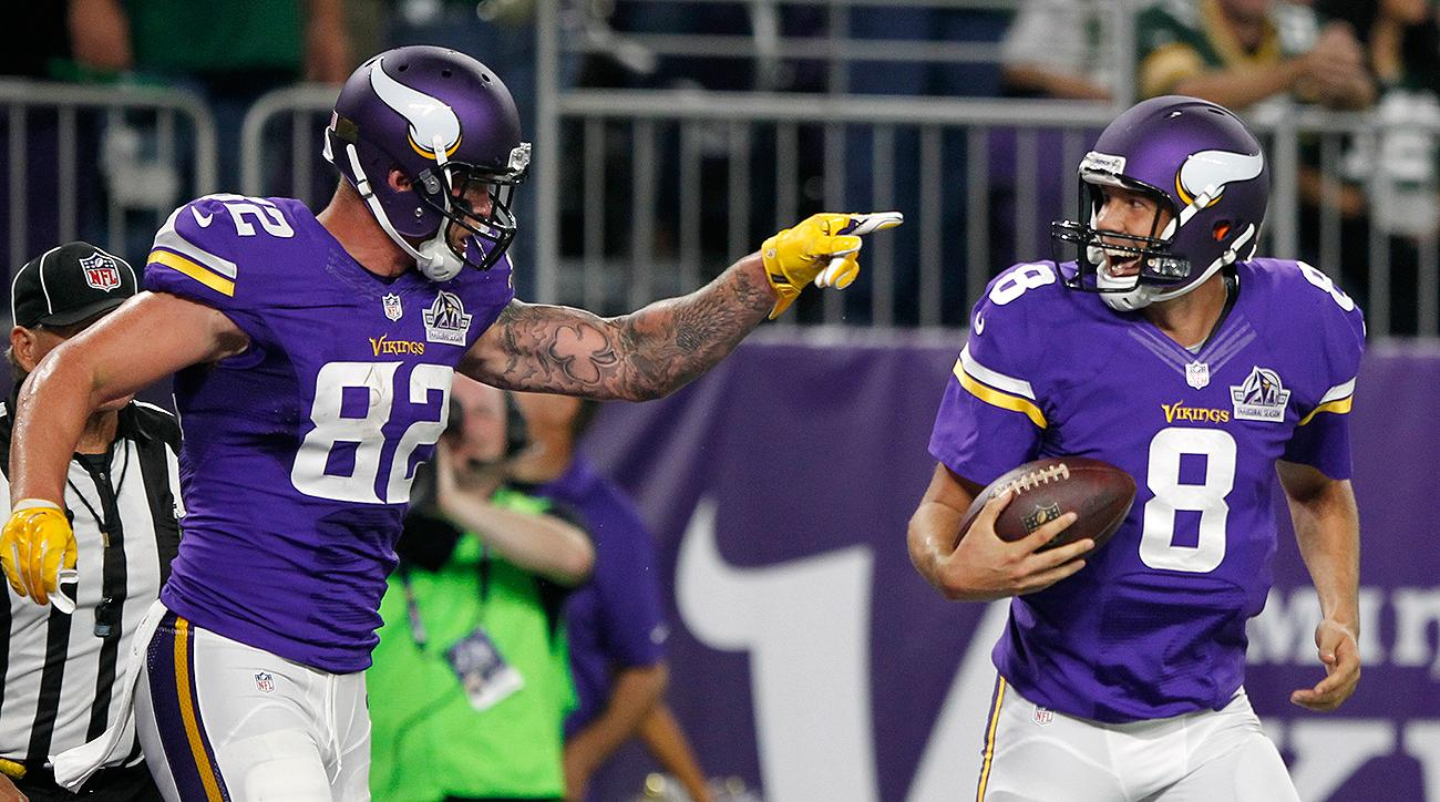 67bf71c4 Vikings top Packers as Sam Bradford, Stefon Diggs shine | SI.com