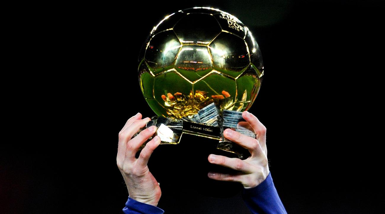 The Ballon d'Or trophy